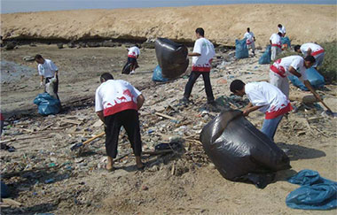 Magawish Island Clean Up Campaign Before
